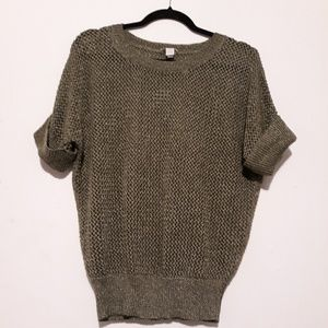 Chico's Knit T Shirt Sweater Size 1